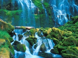 Landscape Wallpaper - Beautiful waterfalls