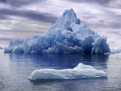 Nature Wallpaper - Icebergs