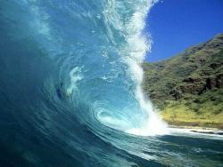 Nature Wallpaper - Coastal wave