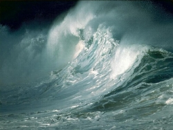 Nature Wallpaper - Ocean storm