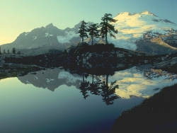 Landscape Wallpaper - Mountain lake