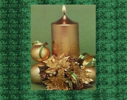 Christmas Wallpaper - Xmas candle