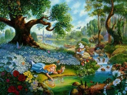 Animated/Cartoon Wallpaper - Alice in wonderland
