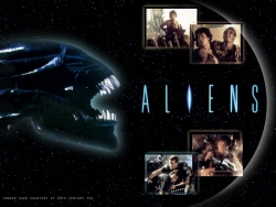 Movie Wallpaper - Aliens movie