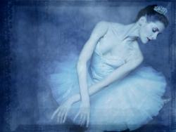 Model Wallpaper - Ballerina