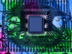 Funny Wallpaper - Circuit board