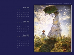 Art Wallpaper - Claude Monet