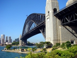Landscape Wallpaper - Sydney Harbour bridge