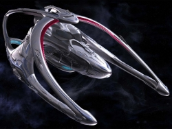 Space Wallpaper - Andromeda spaceship