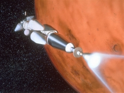 Space Wallpaper - Mars mission