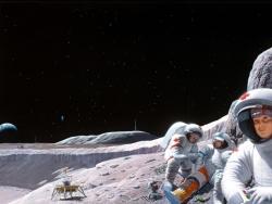 Space Wallpaper - Astronaut adventure