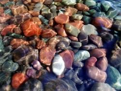 Nature Wallpaper - Rocks in stream