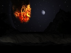 Space Wallpaper - Space fiction fire