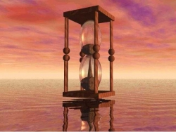 Art Wallpaper - Sand clock
