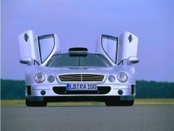 Car Wallpaper - Silver Mercedes