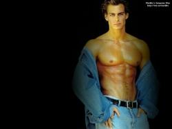 Sexy Wallpapers & Pictures - Marijke blue jeans