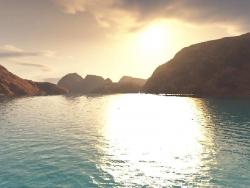 Landscape Wallpaper - Sunshine sea