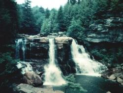 Landscape Wallpaper - Small waterfall