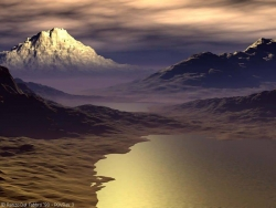 Landscape Wallpaper - Romantic mountain