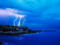 Nature Wallpaper - Thunder light