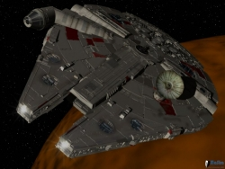 Space Wallpaper - Maska spaceship