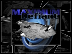 Space Wallpaper - Maximum Defiant