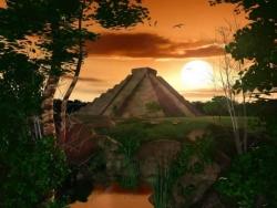 Landscape Wallpaper - Art Pyramid