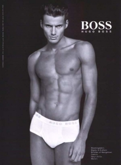 Model Wallpaper - Hugo Boss model