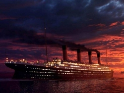 Movie Wallpaper - Titanic ship