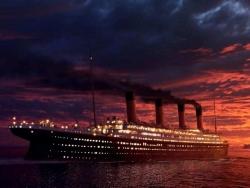 Movie Wallpaper - Titanic ship