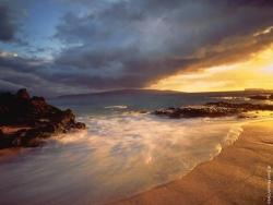 Beach Wallpaper - Afternoon beach