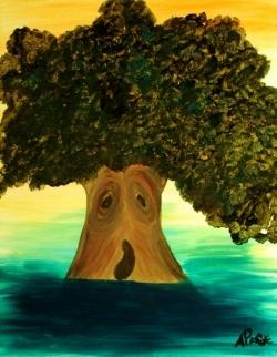 Art Wallpaper - Lively tree