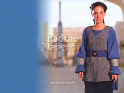 Model Wallpaper - Padme Nabrrie