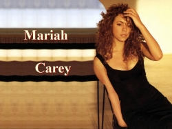 Music Wallpaper - Mariah - Open arm
