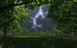 3D and Digital art Wallpaper - Before storm