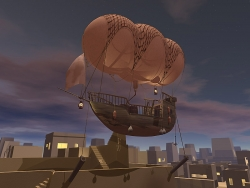 3D and Digital art Wallpaper - Airship