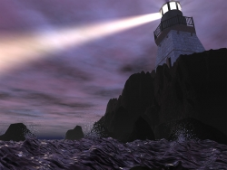3D and Digital art Wallpaper - Beacon