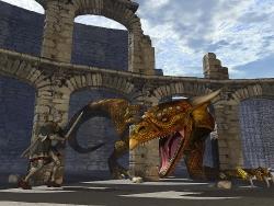 3D and Digital art Wallpaper - Dragon slayer