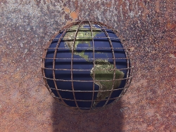 3D and Digital art Wallpaper - Globe