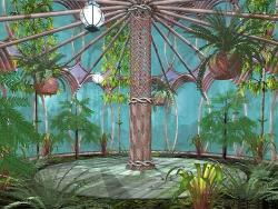 3D and Digital art Wallpaper - Green house