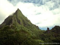 Landscape Wallpaper - Cloudy mountain