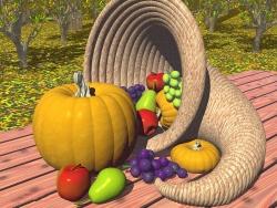 3D and Digital art Wallpaper - Plenty of fruit