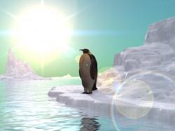 3D and Digital art Wallpaper - Ice olation