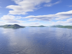 Landscape Wallpaper - Island sea