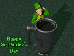 3D and Digital art Wallpaper - Happy St. Patrick's day