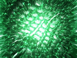 3D and Digital art Wallpaper - Green melt down