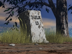 3D and Digital art Wallpaper - Mile stone