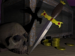 3D and Digital art Wallpaper - Pirate story