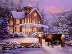 Christmas Wallpaper - Xmas landscape