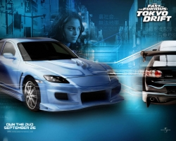 Movie Wallpaper - Fast furious Tokyo